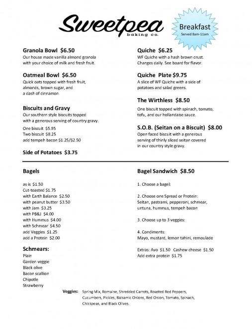 Breakfast Menu 07012017