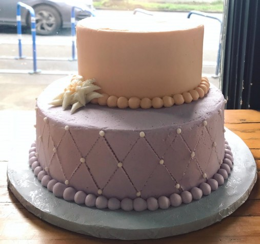 Custom Wedding Cake Design